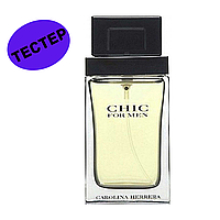 Carolina Herrera CHIC For Men 100 тестер