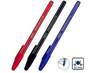 Ручка шариковая AIHAO 555A, синий