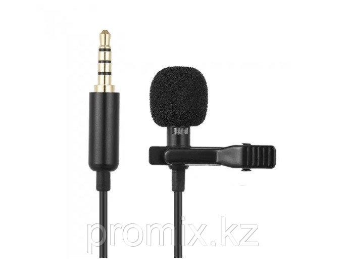 Петличный микрофон c разъем 3.5 jack  R12  1.5м петличка Lavalier Micro Cravate