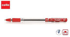 Ручка шариковая Cello Fine gripe 0,7 мм, красный