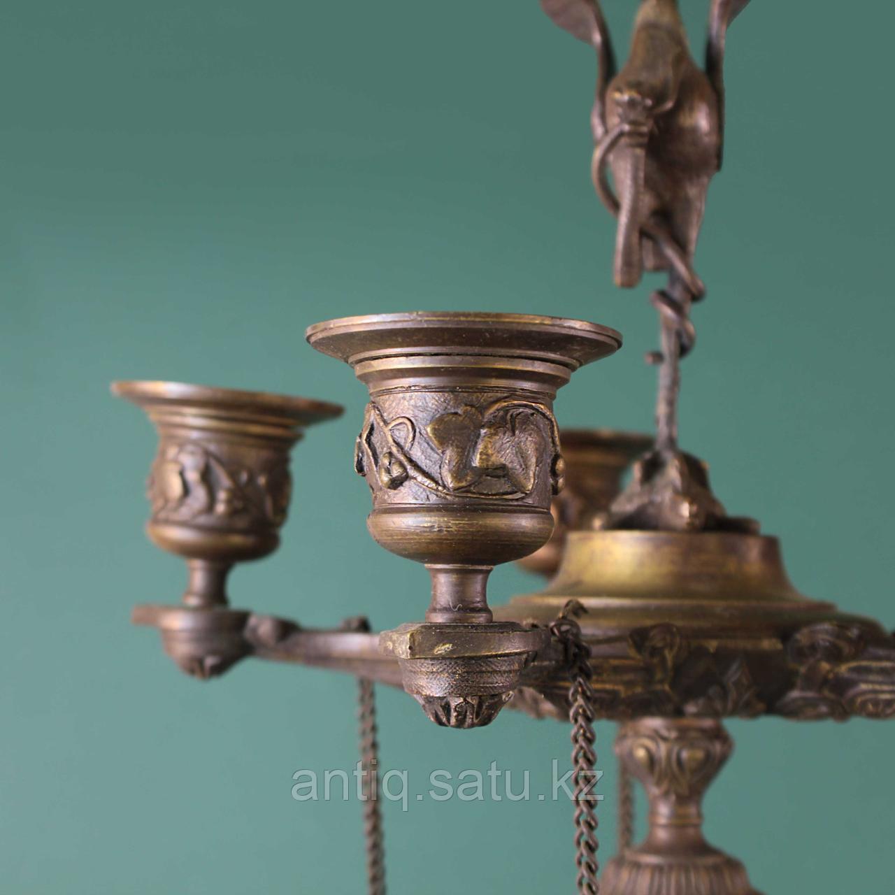 Парные канделябры в стиле Ампир. Франция. XIX век - фото 4