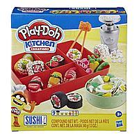 Пластилин Play-Doh Плейдо набор с формочками «Сделай суши»