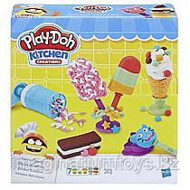 Пластилин Play-Doh Плейдо с формочками в наборе «Мороженое»