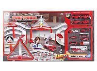 Детская игрушка паркинг Пожарная часть арт. CM557-10