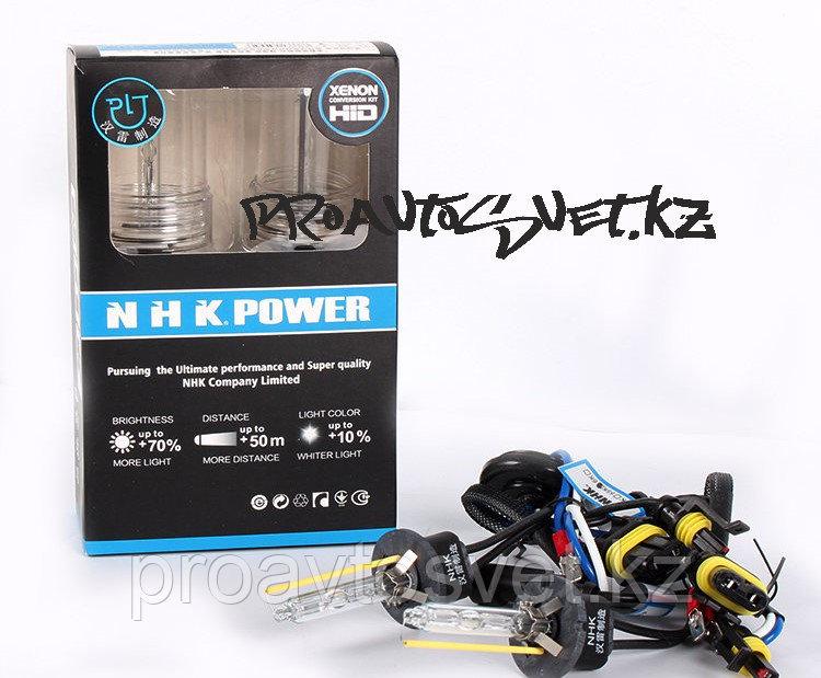 Лампа ксеноновая NHK H1 4300K  blue version 12V 35W