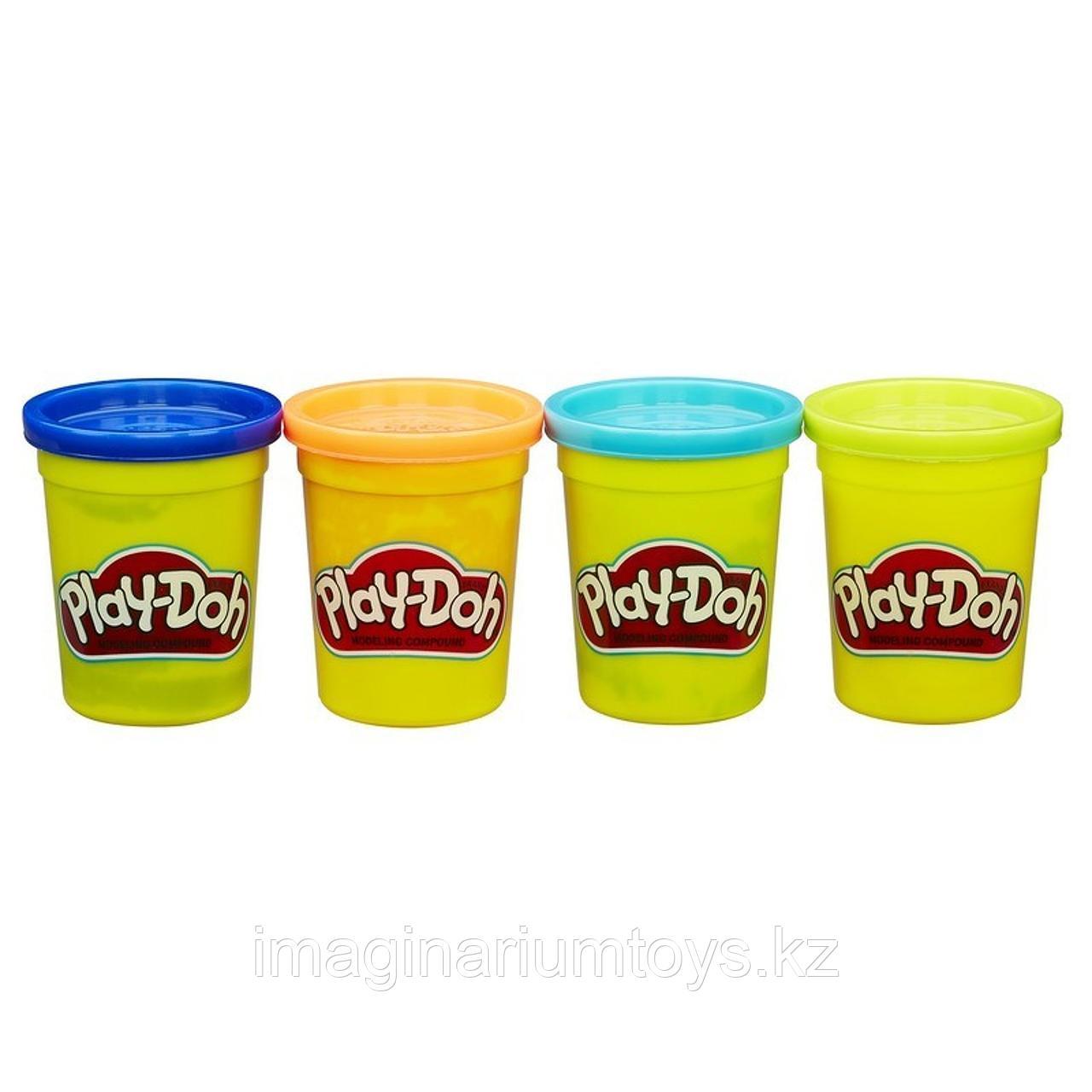 Пластилин детский Play-Doh набор 4 цвета в ассортименте - фото 3
