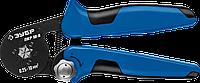 ПКР-10-6 пресс-клещи для втулочных наконечников 0.25 - 10 мм.кв, ЗУБР Профессионал
