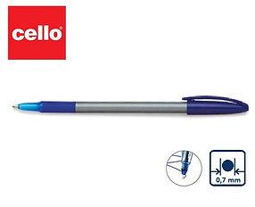 Ручка шариковая Cello Office Comfi-grip, 0,7 мм, синяя