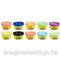 Пластилин детский Play-Doh набор 10 цветов в ассортименте