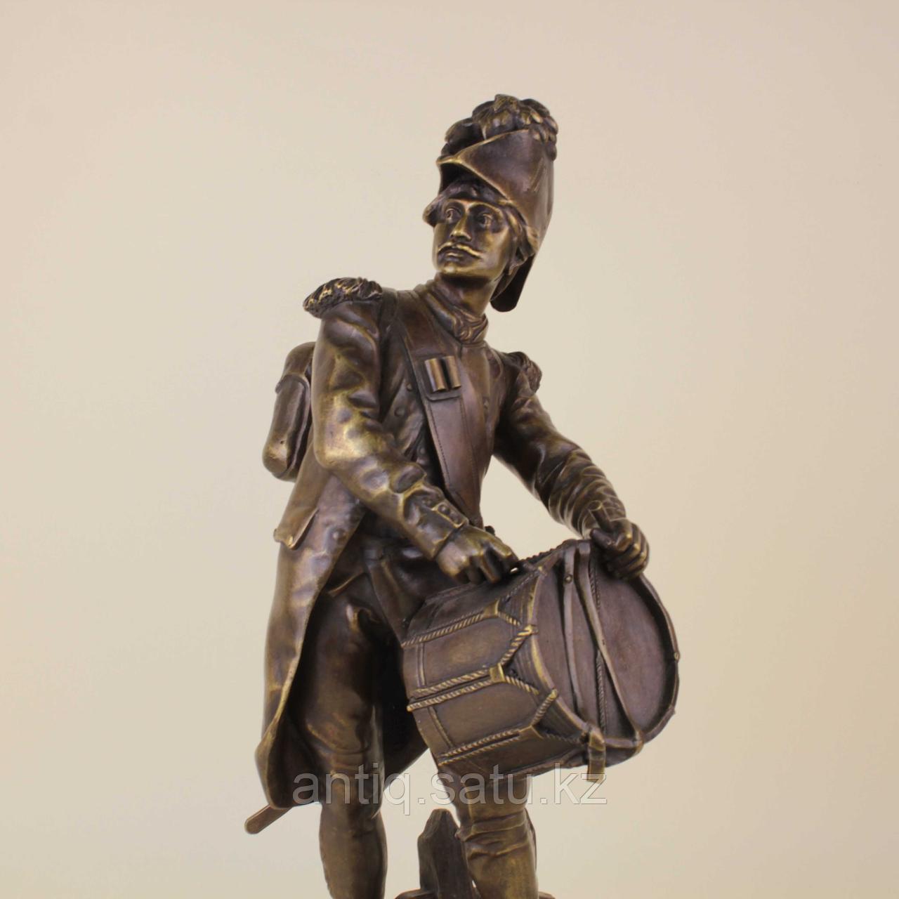 Барабанщик. Автор Etienne Henri Dumaige (1830-1888) - фото 5