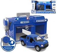 Игровой набор Гараж с полицейской машиной