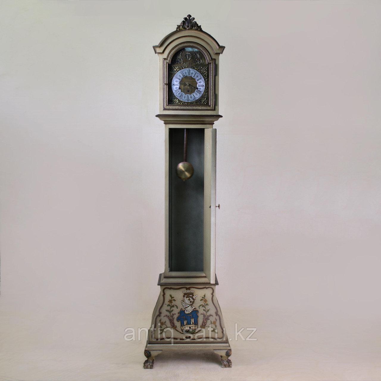 Напольные часы с рыцарским гербом. Германия. Середина ХХ века - фото 2