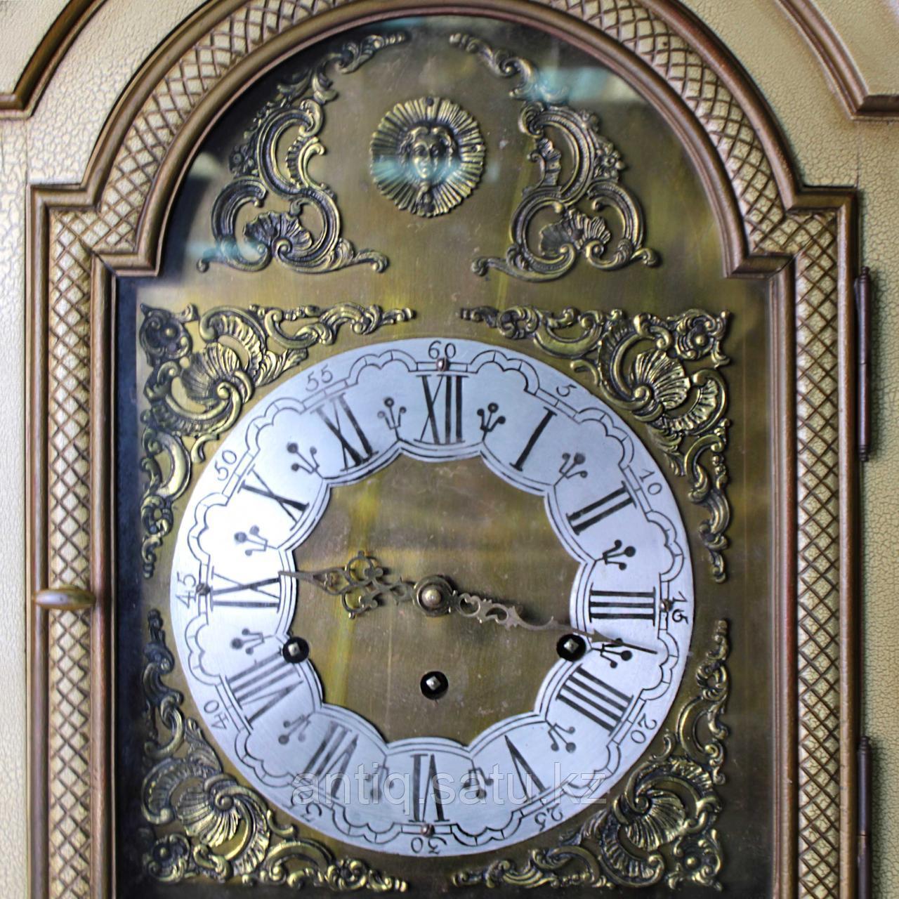 Напольные часы с рыцарским гербом. Германия. Середина ХХ века - фото 4