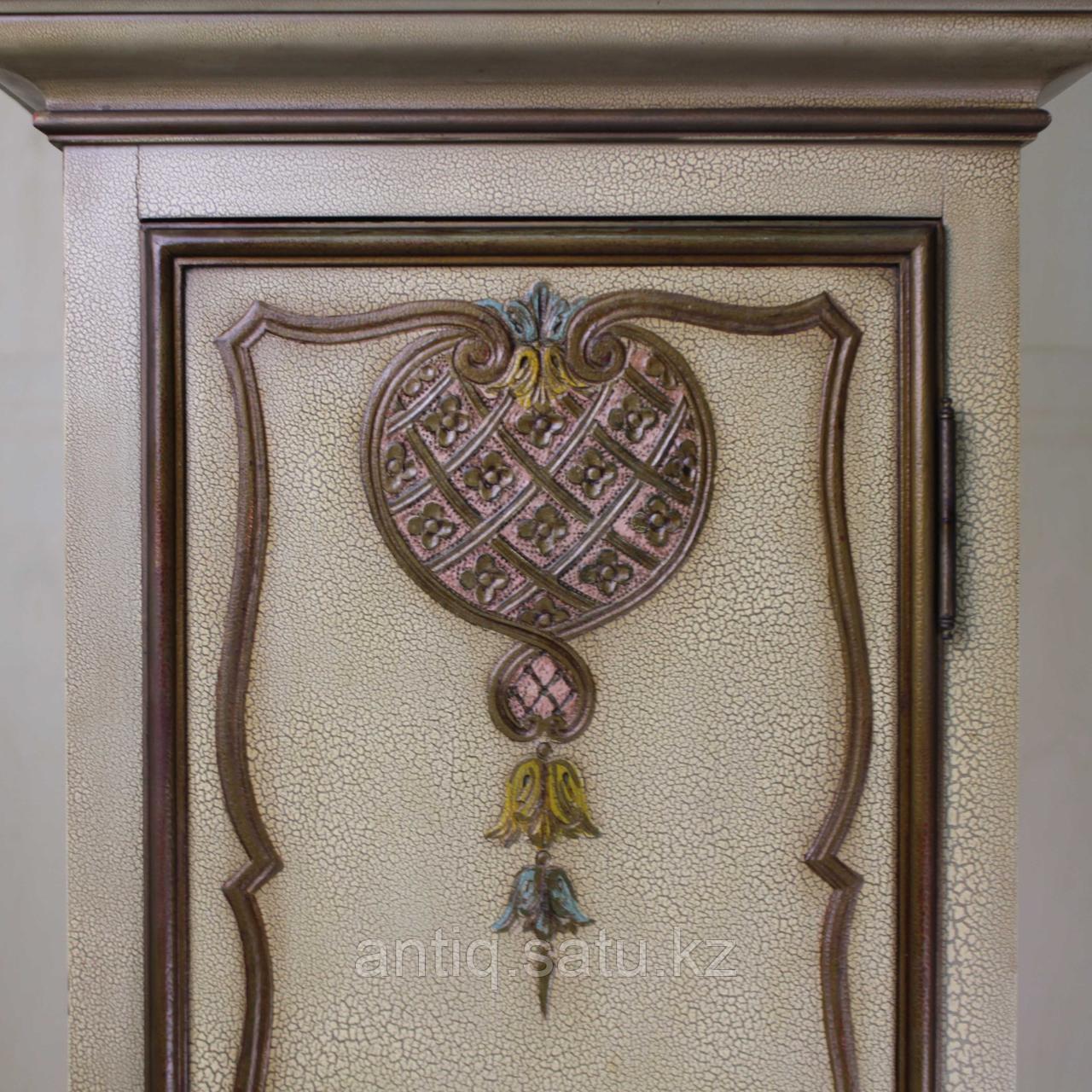 Напольные часы с рыцарским гербом. Германия. Середина ХХ века - фото 5