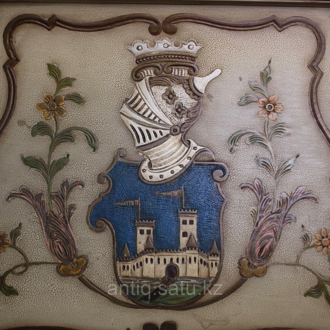 Напольные часы с рыцарским гербом. Германия. Середина ХХ века - фото 8