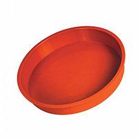 Круглая силиконовая форма для выпечки тортов и кексов