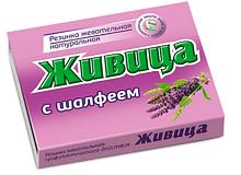 Живица жевательная «Алтайский Нектар» с шалфеем, 5шт по 0,8гр