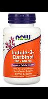 Now Foods, Индол-3-карбинол, 200 мг, 60 капсул. Антиоксидант. Лечение эндометриоза и мастопатии.