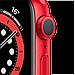 Watch Series 6, 44 мм, корпус из алюминия цвета (PRODUCT)RED, спортивный ремешок красного цвета, фото 3