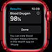 Watch Series 6, 44 мм, корпус из алюминия цвета (PRODUCT)RED, спортивный ремешок красного цвета, фото 4