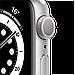 Watch Series 6, 44 мм, корпус из алюминия серебристого цвета, спортивный ремешок белого цвета, фото 3