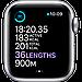 Watch Series 6, 44 мм, корпус из алюминия серебристого цвета, спортивный ремешок белого цвета, фото 5