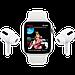 Watch Series 6, 44 мм, корпус из алюминия серебристого цвета, спортивный ремешок белого цвета, фото 9