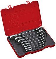 Набор универсальных ключей с карданом и трещоткой, дюймовый, 9 предметов