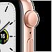 Watch SE, 44 мм, корпус из алюминия золотого цвета, спортивный ремешок цвета «розовый песок», фото 3