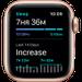 Watch SE, 44 мм, корпус из алюминия золотого цвета, спортивный ремешок цвета «розовый песок», фото 6