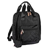 Сумка - рюкзак для мамы черная (Chicco, Италия)