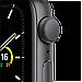 Watch SE, 40 мм, корпус из алюминия цвета «серый космос», спортивный ремешок чёрного цвета, фото 3