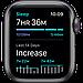 Watch SE, 40 мм, корпус из алюминия цвета «серый космос», спортивный ремешок чёрного цвета, фото 5