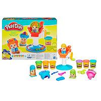 """Play-Doh пластилин набор с формочками """"Сумасшедшие прически"""", фото 1"""