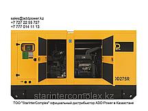 Дизельный генератор ADD200R во всепогодном шумозащитном кожухе