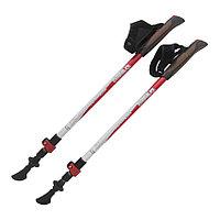 Палки для скандинавской ходьбы TRAMP Compact, Темляк(перчатка) просты в транспортировке, доставка