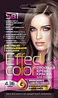 ФК 4926 Стойкая крем-краска Effect Color 4.36 Мокко 50 мл