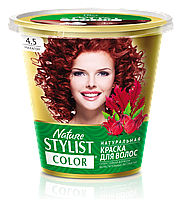 ФК 7558 Натуральная краска для волос Nature Stylist Color Тон 4.5 Махагон