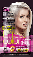 ФК 4919 Стойкая крем-краска Effect Color 9.1 Пепельный Блондин 50 мл
