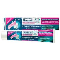 BV DENTAVIT SMART Гелевая зубная паста РЕМИНЕРАЛИЗАЦИЯ ЭМАЛИ для чувств/зуб, без фтора 85 гр