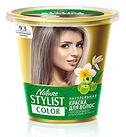 ФК 7566 Натуральная краска для волос Nature Stylist Color Тон 9.3 Жемчужный блонд