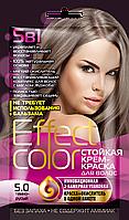 ФК 4916 Стойкая крем-краска Effect Color 5.0 Темно-Русый 50 мл