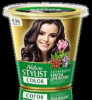 ФК 7557 Натуральная краска для волос Nature Stylist Color Тон 4.36 Амаретто