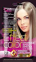 ФК 4918 Стойкая крем-краска Effect Color 7.0 Светло-Русый 50 мл