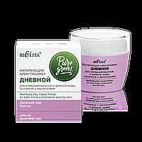 BV Pure Green Матирующий крем-праймер дневной д/комб/жирной кожи склонной к высыпаниям 50 мл