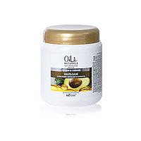 BV OIL NATURALS БАЛЬЗАМ для волос с маслами Авокадо и Кунжута 450 мл
