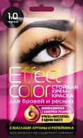 ФК 7860 Краска д/бровей и ресниц EFFECT COLOR Черный 3мл