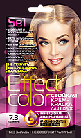 ФК 4915 Стойкая крем-краска Effect Color 7.3 Карамель 50 мл