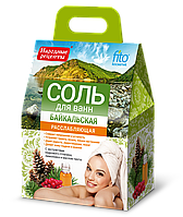 ФК 6142 Соль для ванн НР Байкальская расслабляющая 500 гр
