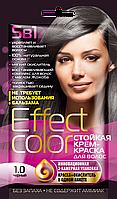 ФК 4910 Стойкая крем-краска Effect Color 1.0 Черный 50 мл